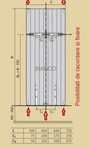 Calorifer vertical Purmo VR20/2100/750
