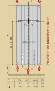 Calorifer vertical Purmo VR21C/2100/750