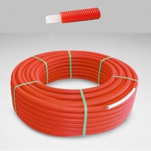 Purmo PEX 16x2 in conducta de protectie rosie, colac 100 m