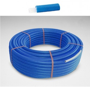 Purmo PEX SD4+ in conducta de protectie albastra 20x2 colac 100 m