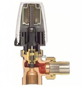 Robinet 1/2 cu cap termostatic  Heimeier tip DX
