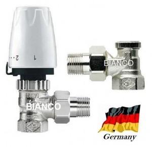 Set robineti calorifer Heimeier tip DX
