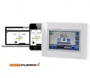 Controler Touch E3 Purmo SMART - WiFi
