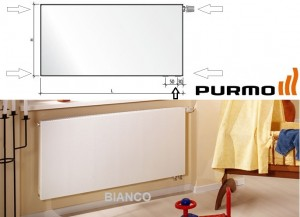 Calorifer Purmo Plan Ventil Compact FCV 22x600x1400