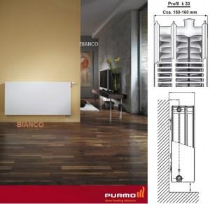 Calorifer Purmo Plan Ventil Compact FCV 33x600x600