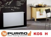 Foto Calorifer decorativ Purmo KOS H 22x600x450