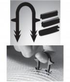Imagine Purmo - set 300 agrafe 2D pentru fixarea tevilor de PEX 16-20 mm